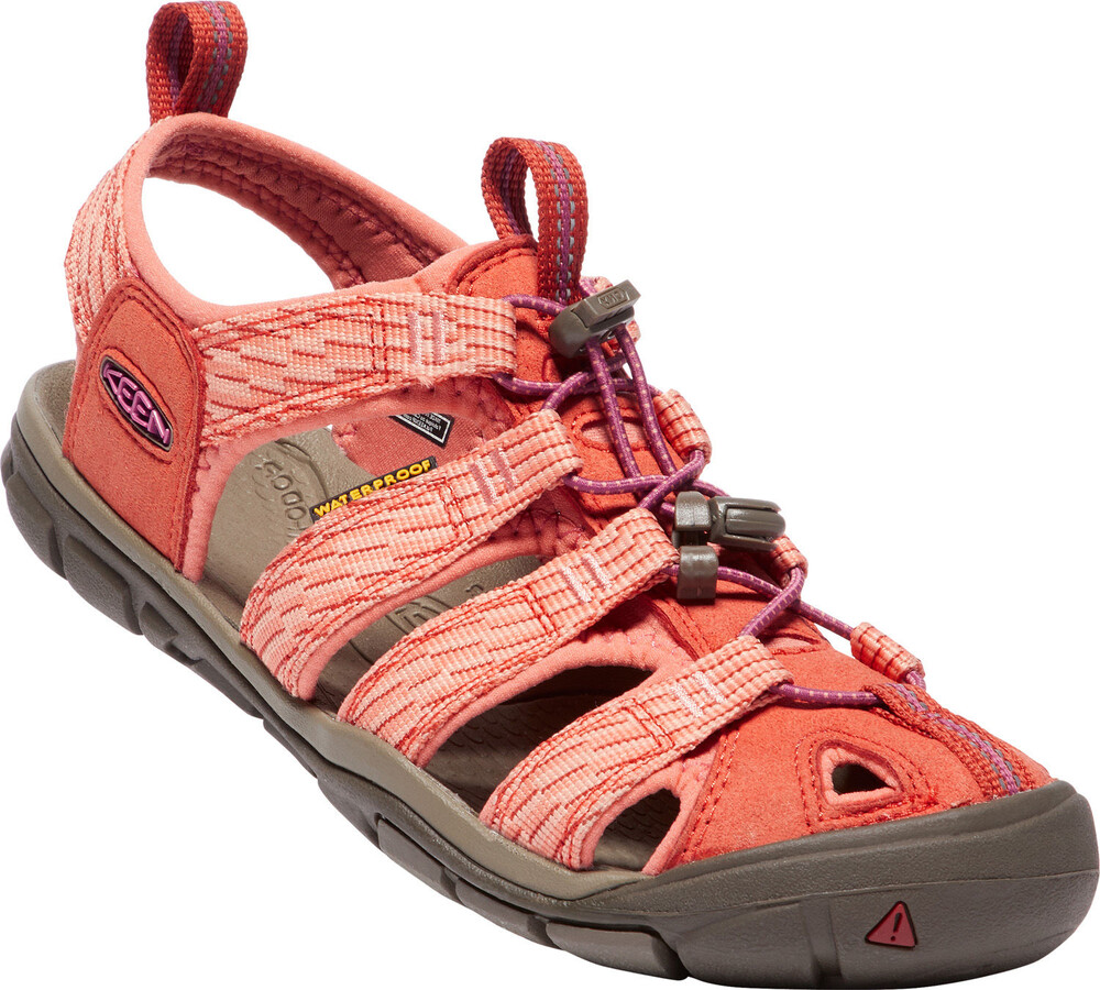Keen Clearwater CNX, Sandales de Randonnée Femme, Orange (Summer Fig/Crabapple Summer Fig/Crabapple), 38 EU